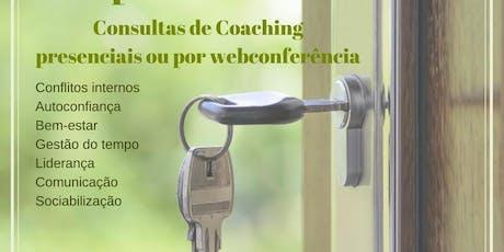 Consultas de Coaching bilhetes