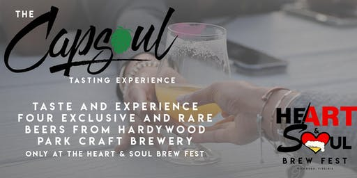 Capsoul Tasting Experience @ The Heart & Soul Brew Fest