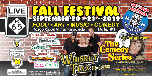 2019 Live65 Fall Festival Tickets, Camping & Cornhole Tourney