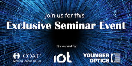 iCoat, IOT, Younger Optics Seminar Event tickets
