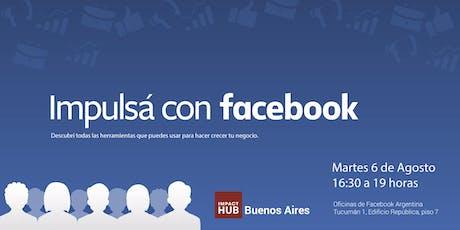 Taller: Impulsá con Facebook entradas