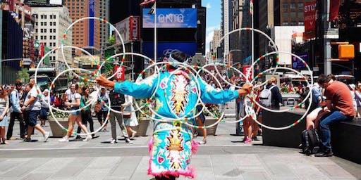 Native American Hoop Dancing Performance