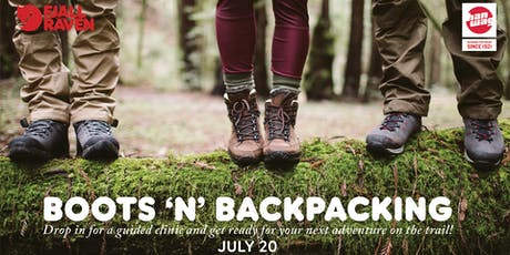 Boots N' Backpacking tickets