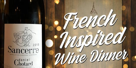 French Inspired Wine Dinner tickets
