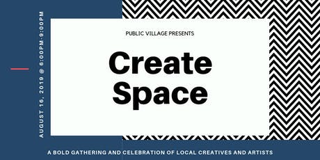 Create Space tickets