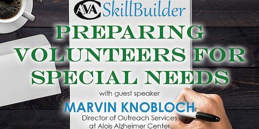 Preparing Volunteers for Special Needs