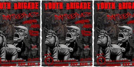 Youth Brigade, Days N Daze, Corrupted Youth and Cheap Tissue @ THoM tickets