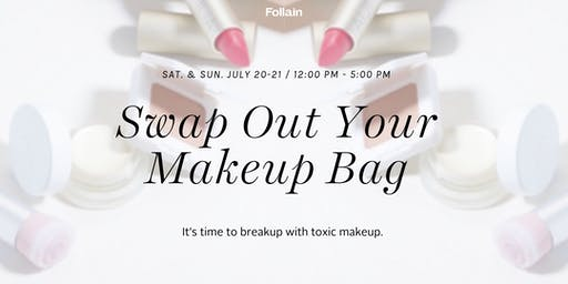 Swap out your Makeup Bag