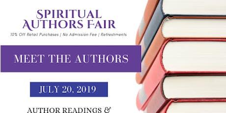 Spiritual Author Fair tickets