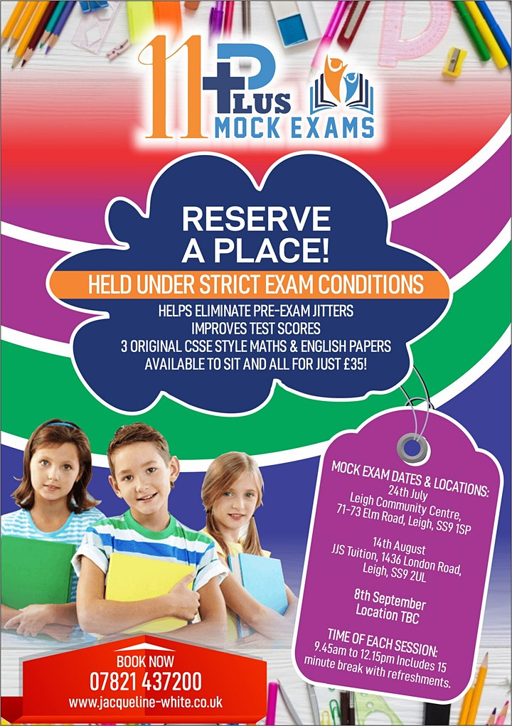 11 Plus Mock Exams Southend, Chelmsford, Colchester - NEW CSSE STYLE FORMAT image