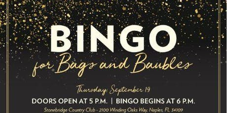 Bingo for Bags and Baubles tickets
