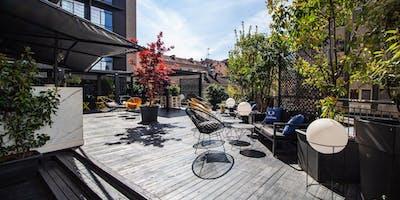 Terrazza Tocq Hotel Milano - Venerdì 19 Luglio 2019 - Rooftop Cocktail Party in Corso Como con Dj set - Accrediti e Tavoli al 338-7338905