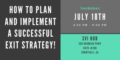 How to Plan and Implement a Successful Exit Strategy!