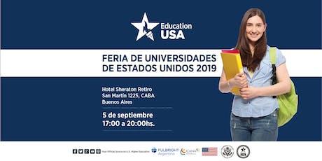 Feria EducationUSA 2019 - Buenos Aires  entradas