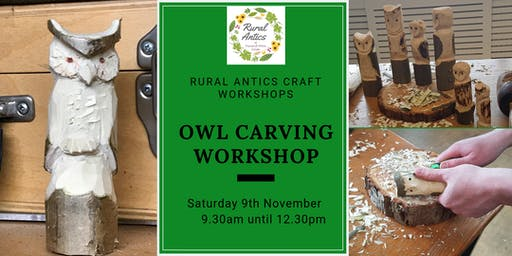 Owl Carving Workshop
