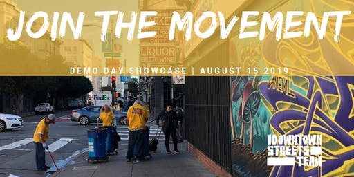 Join The Movement--Demo Day Showcase