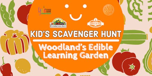 Children's Garden Scavenger Hunt July