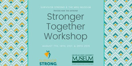 Stronger Together tickets