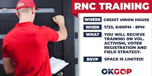 RNC Data Training - Oklahoma City