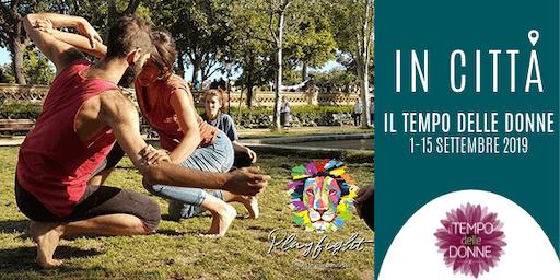 Playfight, la lotta che connette, al parco!