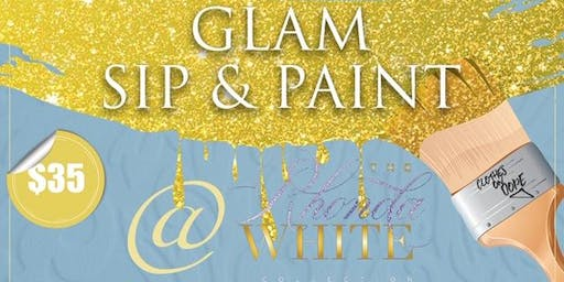 GLAM Sip & Paint