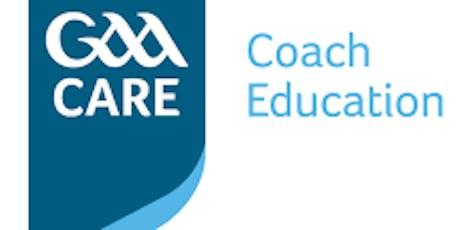 Summer GAA Coaching Workshops tickets