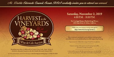 Harvest in the Vineyard Gift & Wine Benefit Auction
