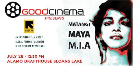 GoodCinema Presents: Matangi/Maya/M.I.A. tickets