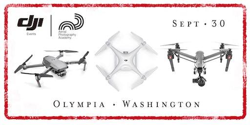 DJI Drone Photo Academy – Olympia, WA.