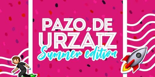 SUMMER EDITION EN PAZO DE URZAIZ VIERNES 19 DE JULIO