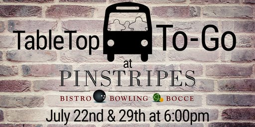 TableTop-to-Go: Pinstripes