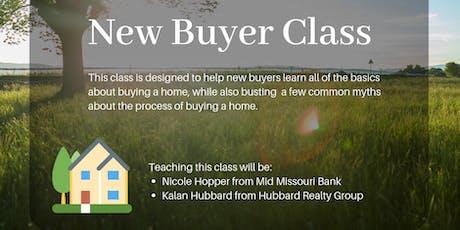New Buyer Class tickets