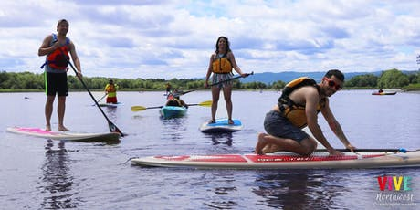 Stand Up Paddle and Kayaking outing with Vive NW & TV Jam tickets