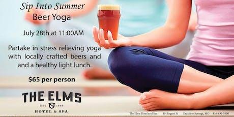 Sip Into Summer Beer Yoga tickets