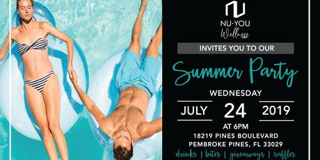 Nu You Wellness Summer Party tickets