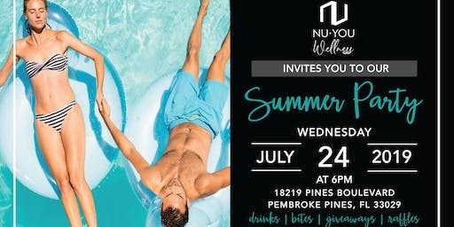 Nu You Wellness Summer Party