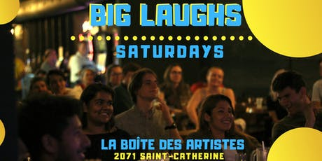BIG LAUGHS tickets