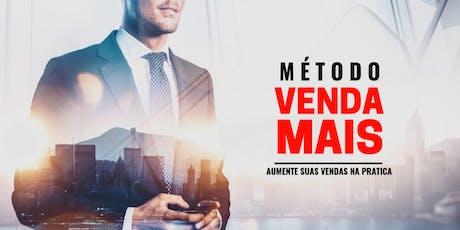 Método VENDA MAIS | Aumente suas vendas na prática!   ingressos