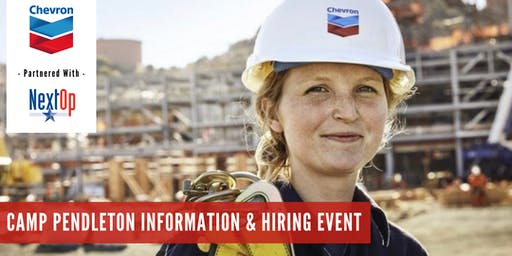 Chevron Information & Hiring Event (Camp Pendleton)