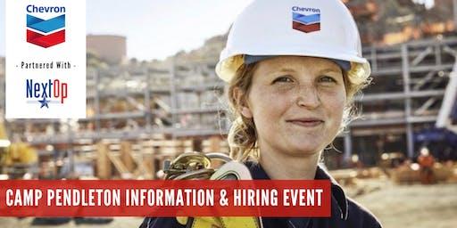 Chevron Information & Hiring Event (Camp Pendleton)