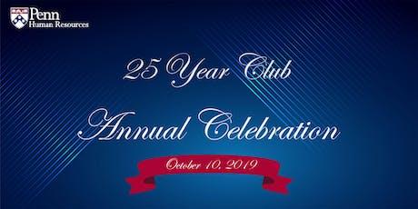 25 Year Club Annual Celebration tickets