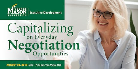 Capitalizing On Everyday Negotiation Opportunities tickets