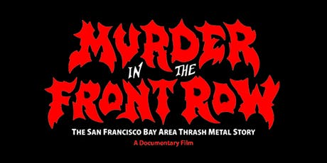 Murder In The Front Row screening tickets
