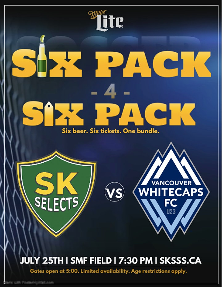 SK Summer Soccer Series - Second Match: SK Selects vs Vancouver Whitecaps image