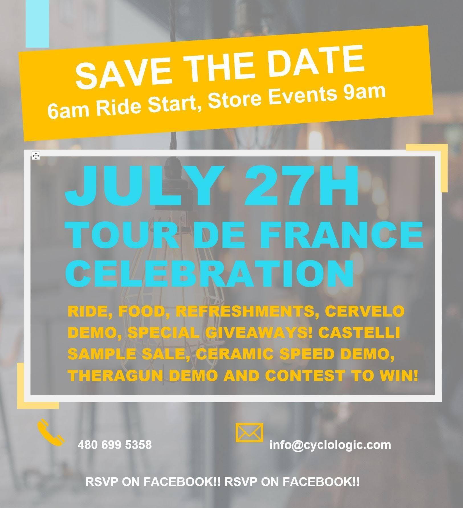 2019 Tour De France Celebration