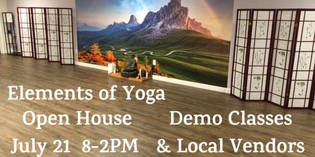 Elements of Yoga Open House tickets