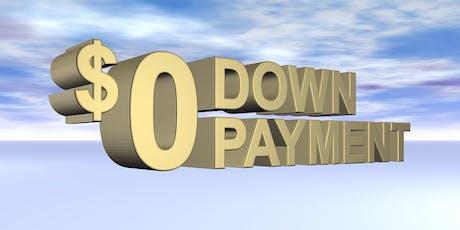 Zero Down Payment Mortgage Seminar tickets