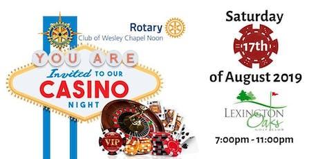 Wesley Chapel Rotary Casino Night tickets
