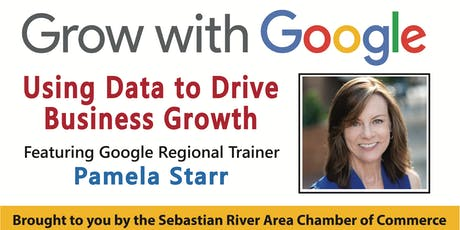 Grow with Google - Using Data to Drive Business Growth tickets