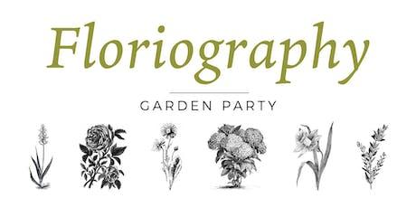 Floriography Garden Party tickets